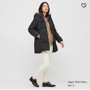 Uniqlo Seamless Down Puffer Coat short XS